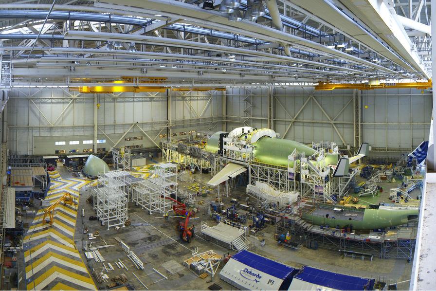 [En images] L'assemblage du Beluga XL se poursuit