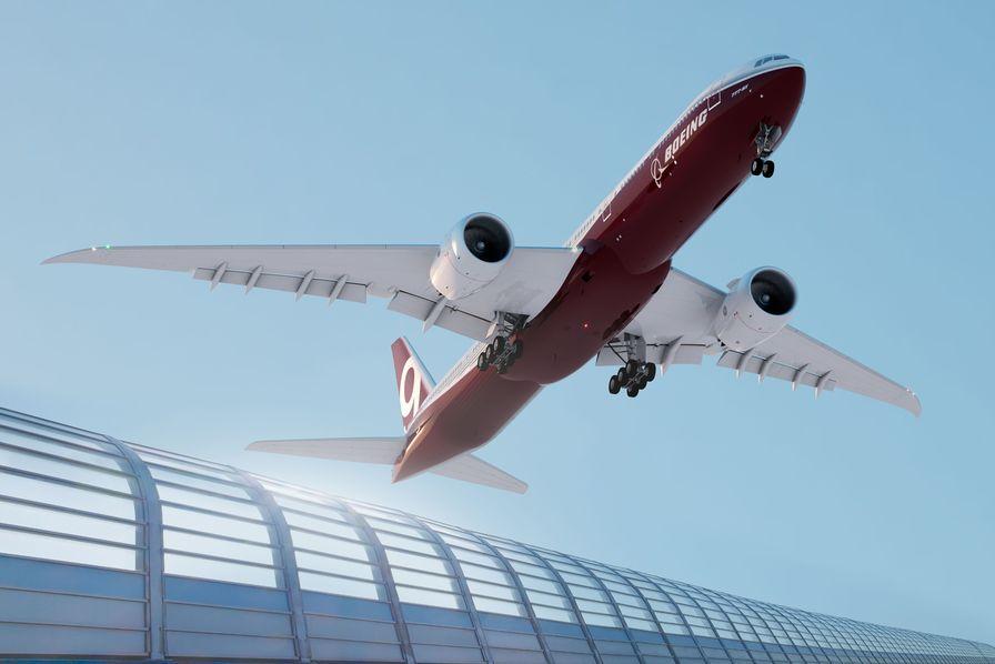 Boeing débute la production de son 777X et vient concurrencer les Airbus A380 et A350-900