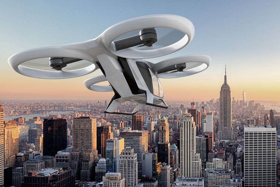 Airbus poursuit les tests de son taxi-volant CityAirbus