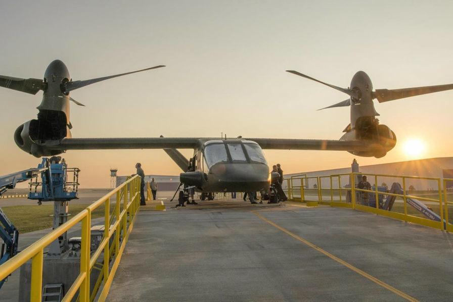 [Vidéo] L'aéronef tiltrotors V-280 Valor de Bell Helicopter fait tourner pour la première fois ses pales