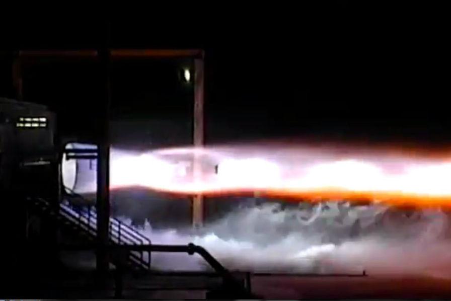 [Vidéo] Le réacteur BE-4 de Blue Origin réussit son premier test d'allumage
