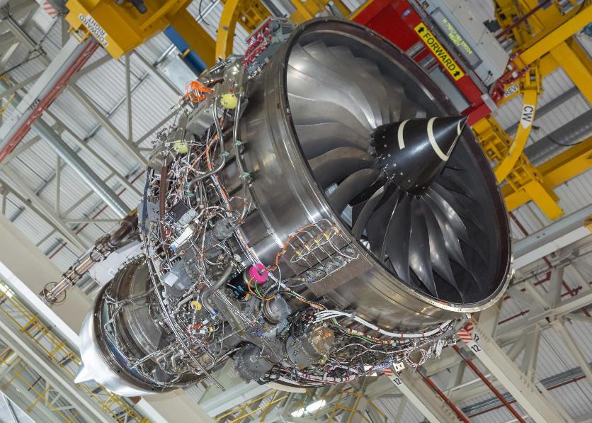Rolls-Royce va passer au banc d'essais son Advance3 – Air&Cosmos