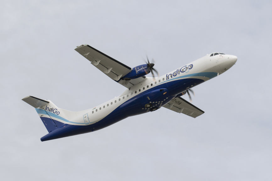 IndiGo réceptionne son premier ATR 72-600