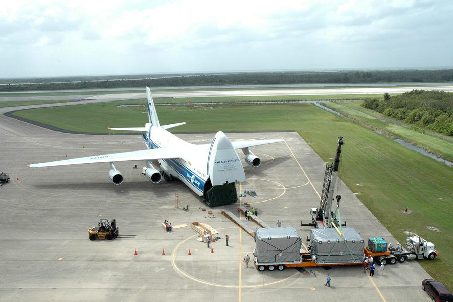 Un Antonov An-124 va décoller en direction de l'A380 accidenté à Goose Bay