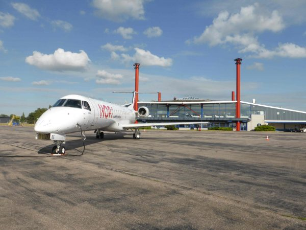 Aéroport Rouen Vallée de Seine : un Embraer 145 pour la ligne Rouen-Lyon !
