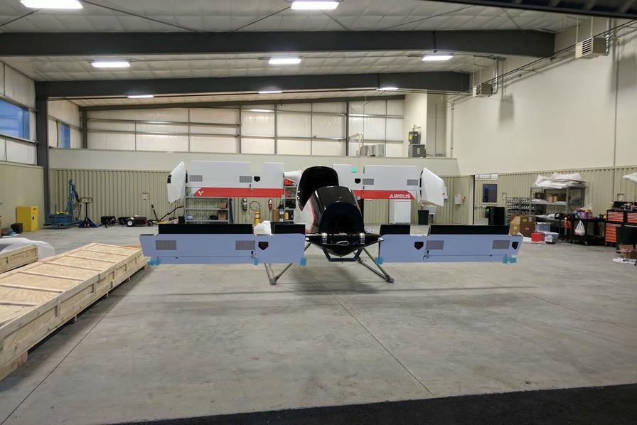 [En images] Airbus testera sa «voiture volante» électrique Vahana d'ici la fin de l'année