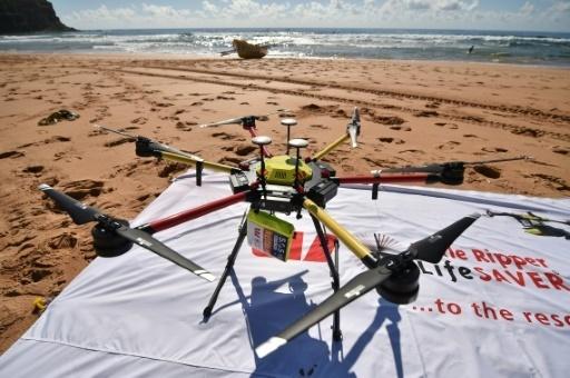 Australie: des drones surveillent les plages à la recherche de requins – Le Point