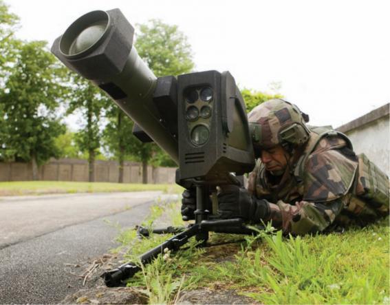 L'armée de Terre réceptionne les premiers missiles MMP