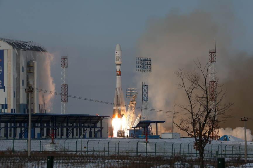 Soyouz rate le lancement d'un Meteor
