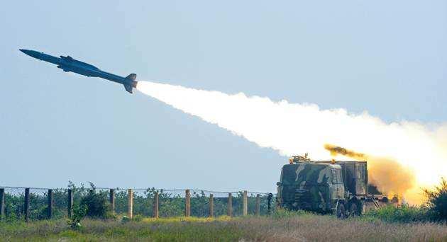 L'Inde réussi son tir de missile Akash