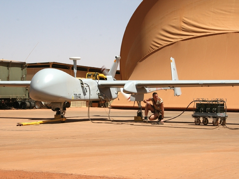 Le drone Harfang retiré du service – Air&Cosmos