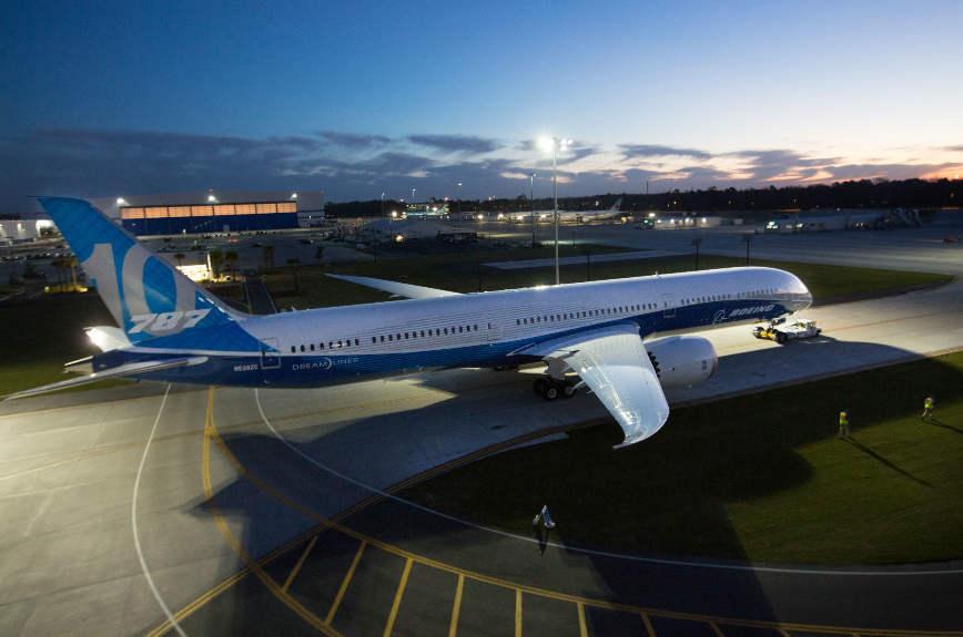Daher remporte son premier contrat avec Boeing sur le 787