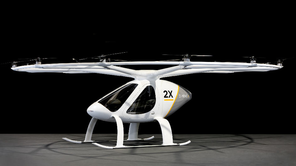 Volocopter transporte son premier passager – Air&Cosmos