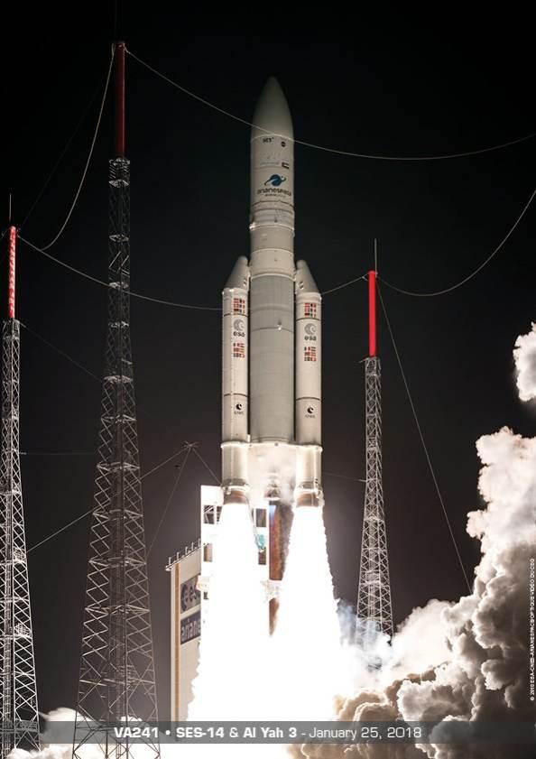 Ariane 5 se fait une frayeur – Air&Cosmos