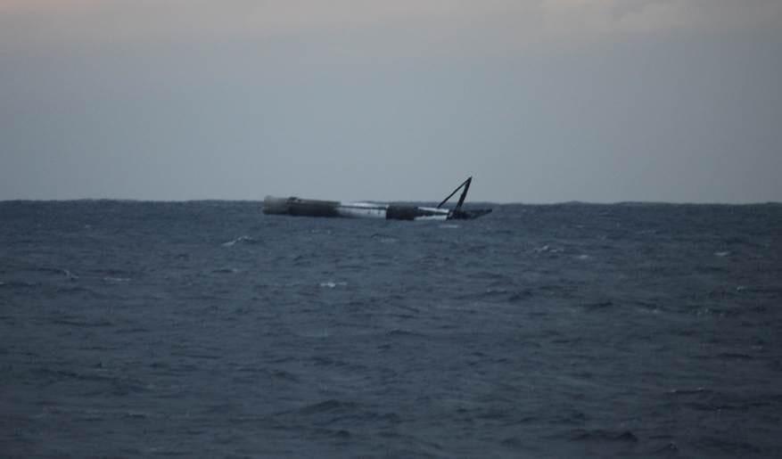 Le Falcon9… flotte! – Air&Cosmos