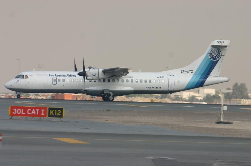 Crash aérien : Aseman Airlines perd un ATR 72