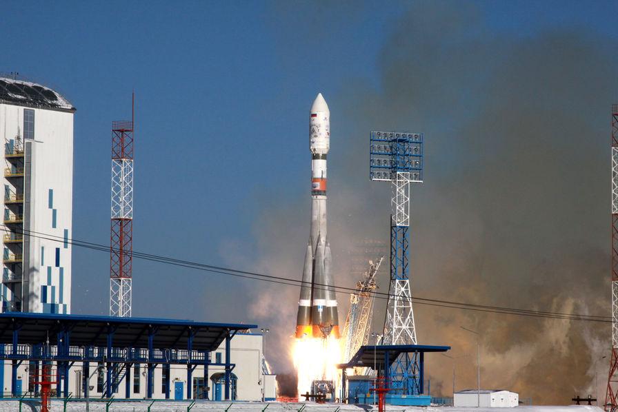 [Vidéo] La fusée Russe Soyouz lance avec succès onze satellites