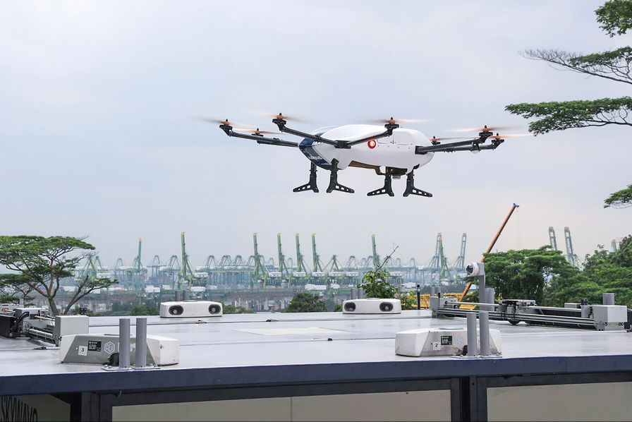 [L'industrie c'est fou] Airbus fait voler son drone de livraison Skyways
