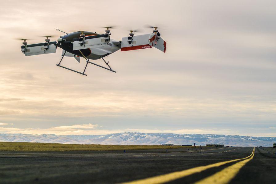 Premier vol réussi pour le Vahana d'Airbus