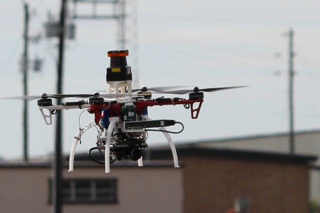 Permettre aux drones d'éviter les obstacles