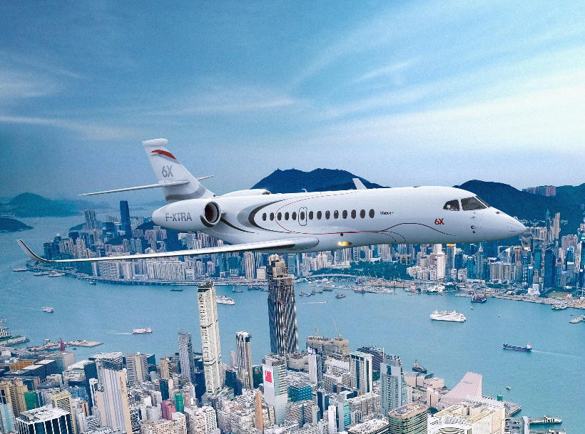 Dassault Aviation passe au Falcon 6X – Air&Cosmos