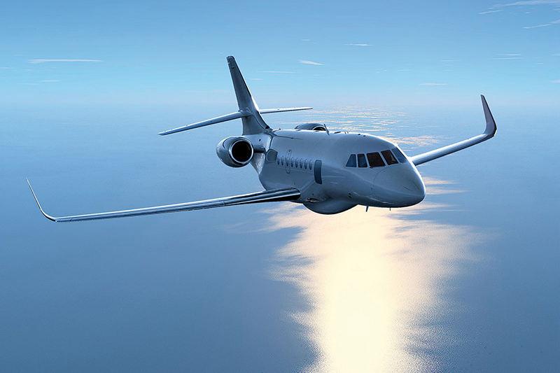 Trois Dassault Falcon pour la guerre électronique – Air&Cosmos