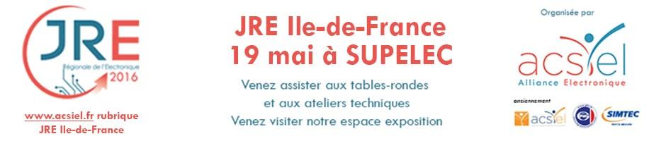ACSIEL – JRE SUPELEC 19 mai > Table ronde « Concevoir et industrialiser votre objet connecté en France, c'est possible ! »