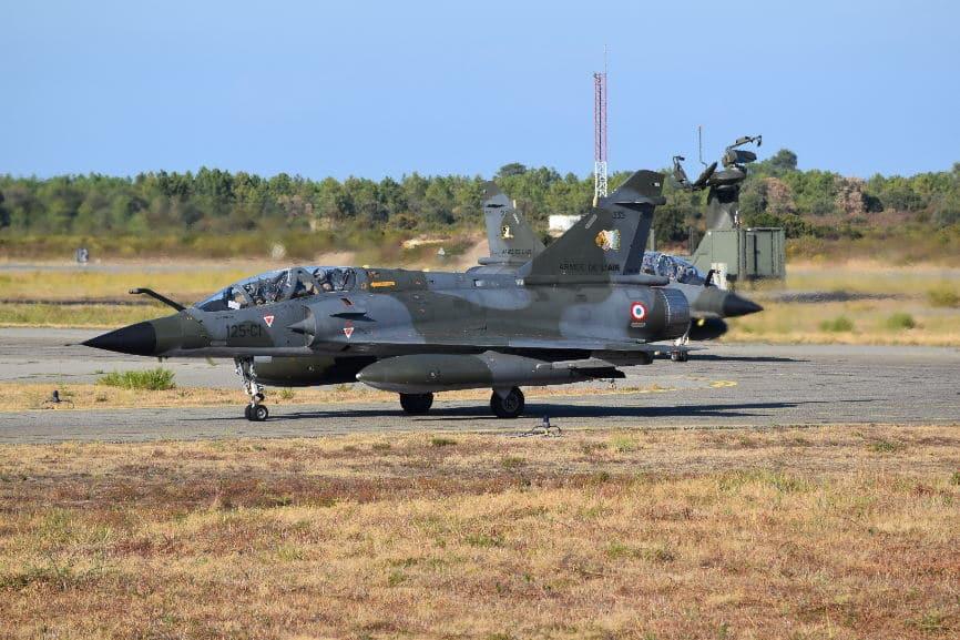 Fin de la dernière opération extérieure des Mirage 2000N