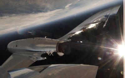 Premier vol supersonique pour le SpaceShipTwo