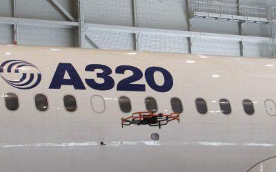 Airbus associe les drones à la maintenance