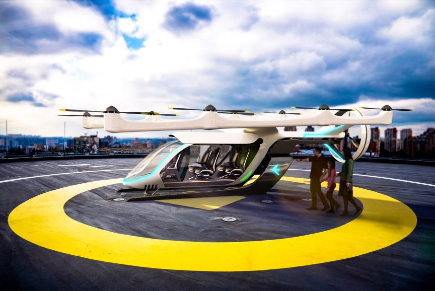 Embraer dévoile son aéronef ADAVe – Air&Cosmos