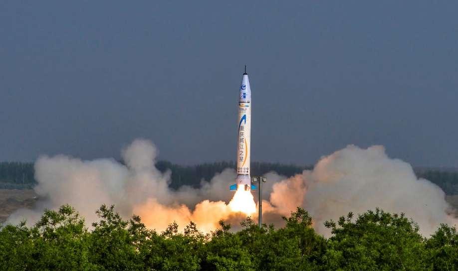 Premier vol d'un lanceur privé chinois – Air&Cosmos