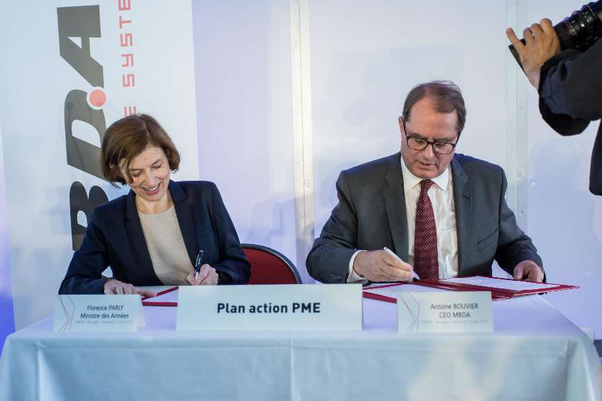MBDA s'engage sur une convention Action PME – Air&Cosmos