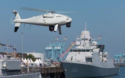 Schiebel réalise des démonstrations pour la marine belge