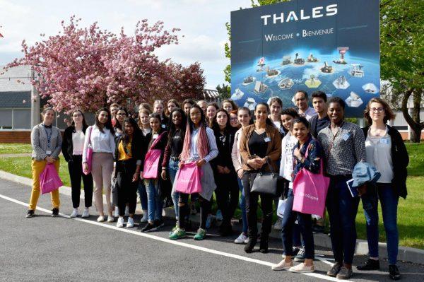 IndustriElles : tapis rouge chez Thales