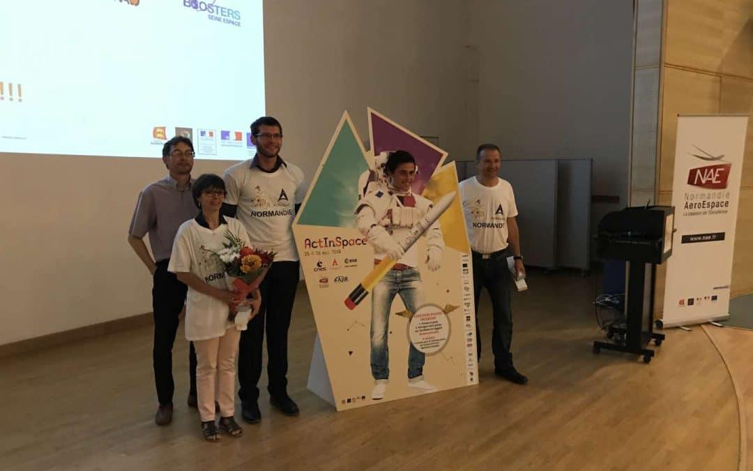 [:fr]NAE présente le lauréat normand du défi international ActInSpace pour la finale du 27 juin à Toulouse[:]