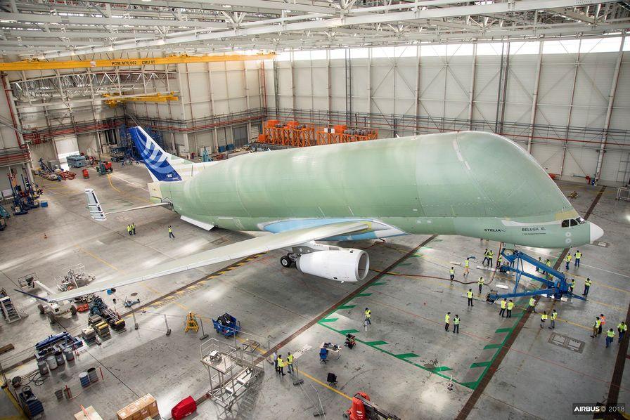 [Vidéo] Airbus fait vibrer le gigantesque avion-cargo BelugaXL