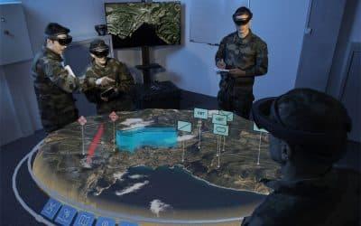 Airbus modernise les briefings de l'Armée de terre avec de la réalité augmentée