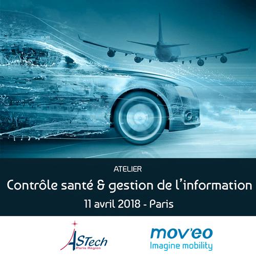 Le 11/04/2018 – Atelier contrôle santé des matériaux et des structures et gestion de l'information – PARIS