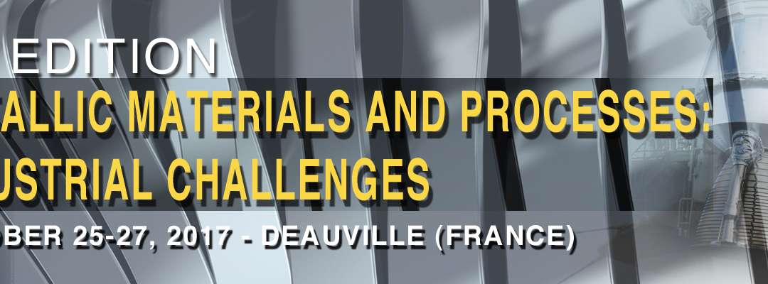 Du 25/10 au 27/10/2017 – ASTech International Conference MMP 2017 – Deauville