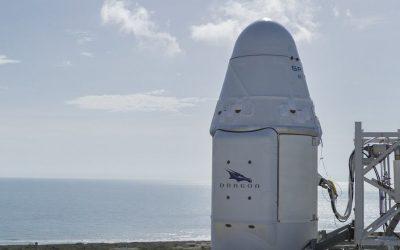 [En images] Un morceau de fusée SpaceX retrouvé… sur une île bretonne !