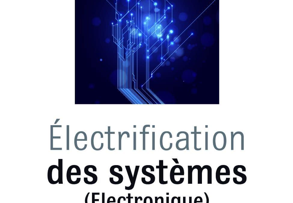 Comité RTI Electrification des systèmes – 19/01/16 – 13h00 – NAE