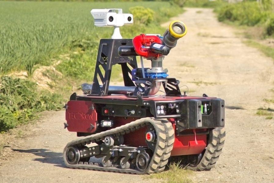[Vidéo] Trois robots Sentinel en renfort des pompiers de Paris