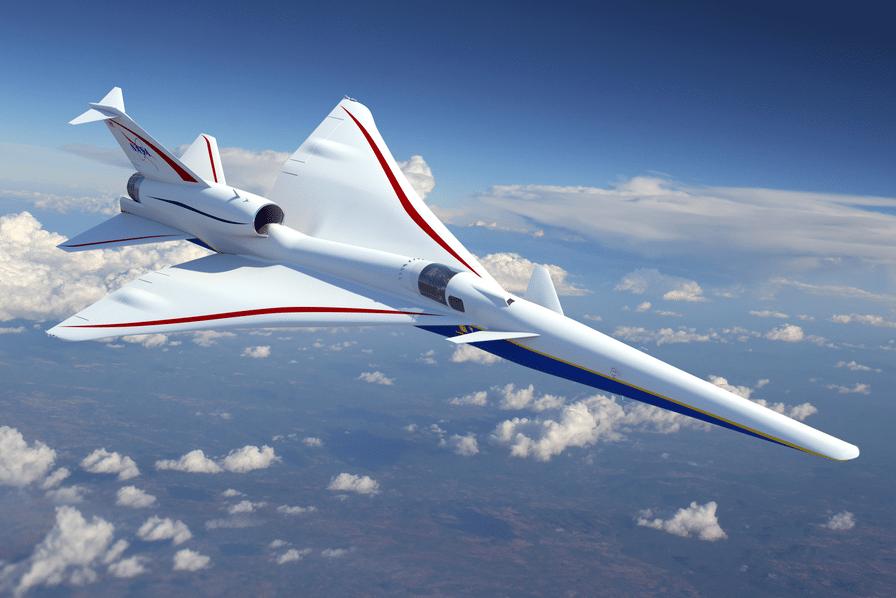 [Vidéo] Lockheed Martin construira le X-59 QueSST, l'avion supersonique ultra-silencieux de la NASA