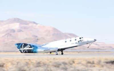 [En images] En frôlant Mach 2, le vaisseau de Virgin Galactic s'approche un peu plus du premier vol spatial touristique