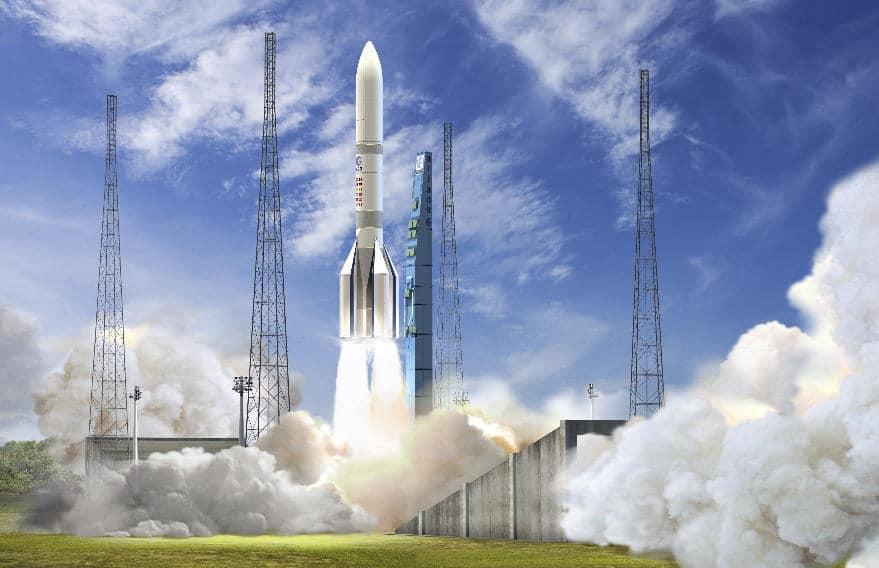 Sept d'un coup pour Arianespace