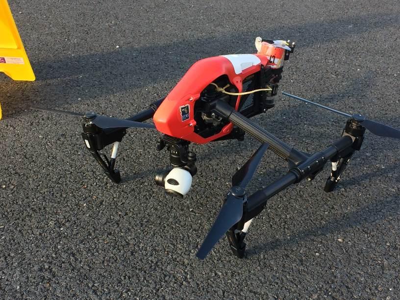 Les drones continuent de séduire les pompiers