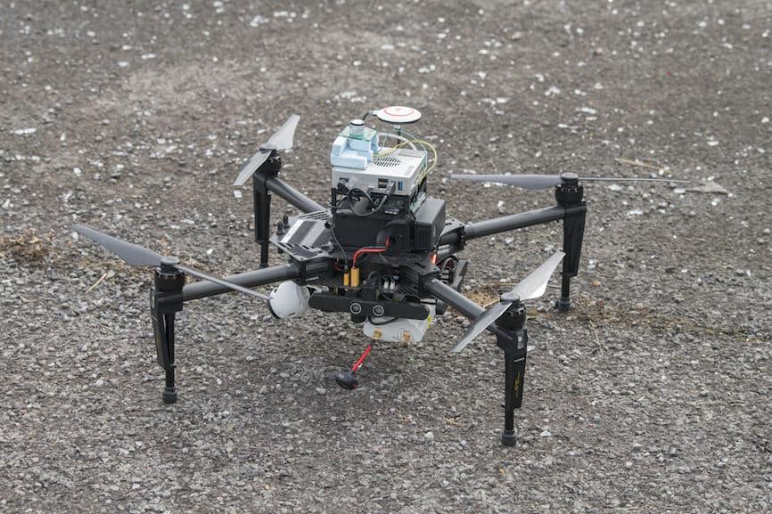 Des drones pour faire face aux menaces NRBC – Air&Cosmos