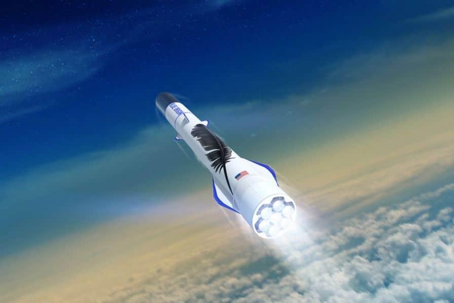 Comment Blue Origin compte réutiliser 25 fois son lanceur spatial
