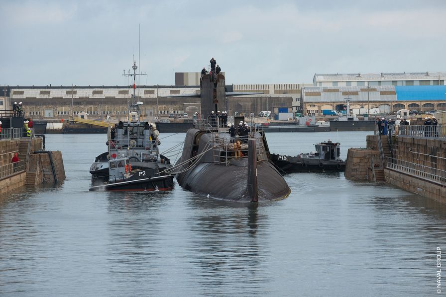 Naval Group commence à déconstruire les premiers sous-marins nucléaires